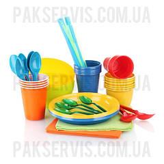 Посуд одноразовий пластиковий, Паперова