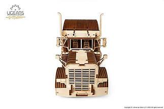 Тягач (Биг Риг фура) VM-03 UGears - Деревянный механический 3D пазл конструктор, фото 3