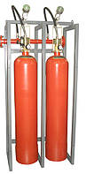 Модуль газового пожаротушения МГП-2-80 коллектор DN32 с СИМ
