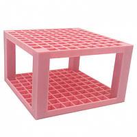 Подставка для кистей и канцелярии Artists Organization Rack розовая SKL32-276066