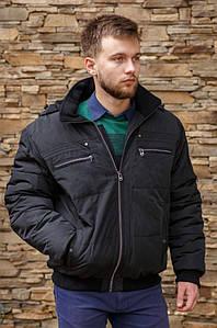 Курточка мужская зима черная 124962P