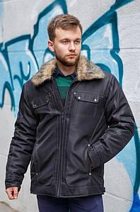 Курточка мужская зима черная 124964P