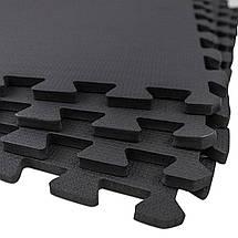 Мат-пазл (ласточкин хвост) SportVida Mat Puzzle 10 мм SV-HK0176 Black, фото 3