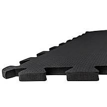 Мат-пазл (ласточкин хвост) SportVida Mat Puzzle 10 мм SV-HK0176 Black, фото 2