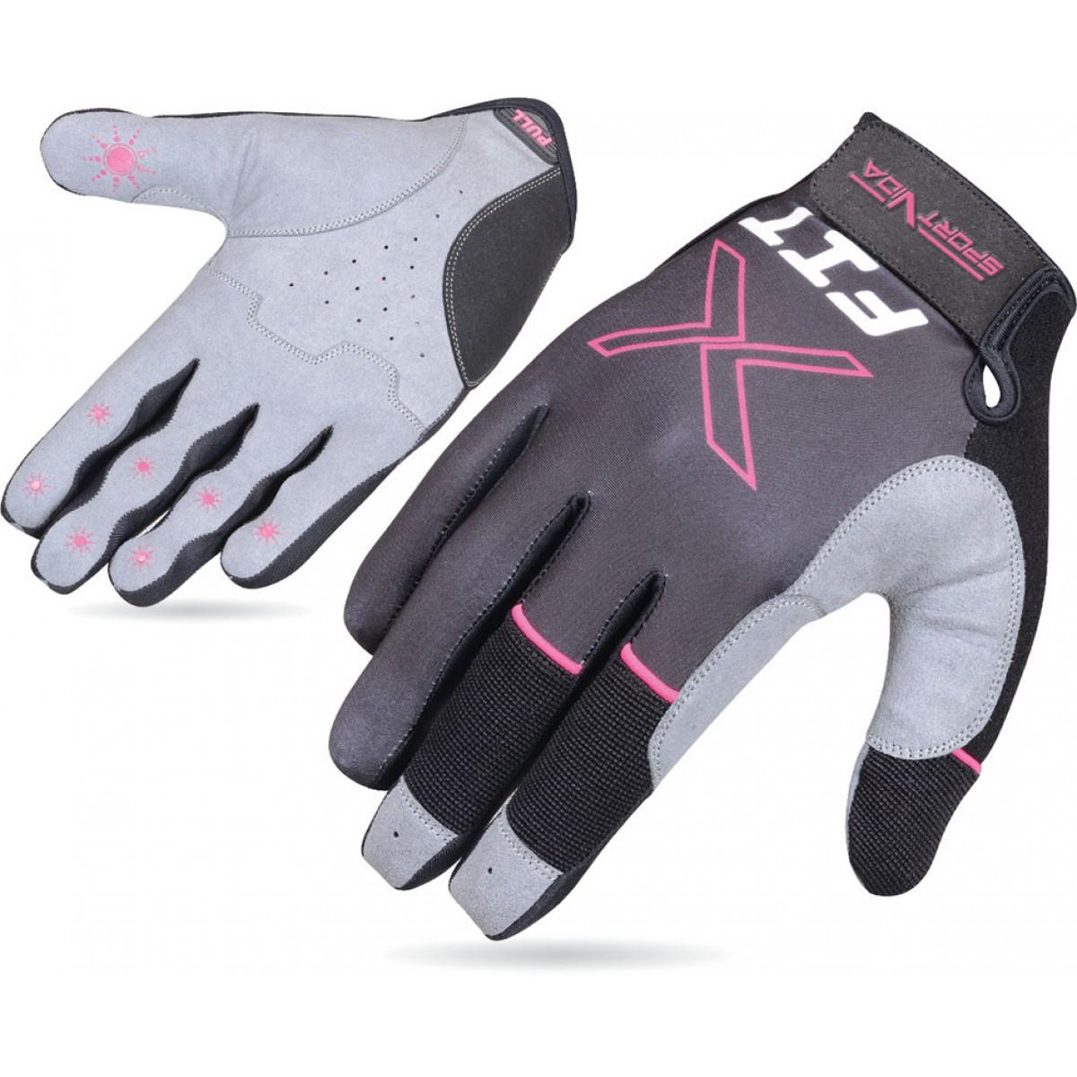 Перчатки для Crossfit SportVida SV-AG00045 (XL) Gray