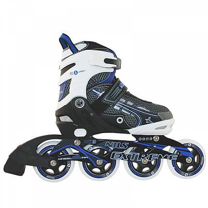 Роликовые коньки Nils Extreme NA9008A Size 31-34 Blue, фото 2