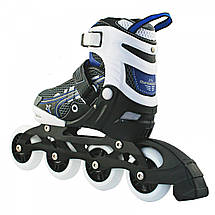 Роликовые коньки Nils Extreme NA9008A Size 31-34 Blue, фото 3