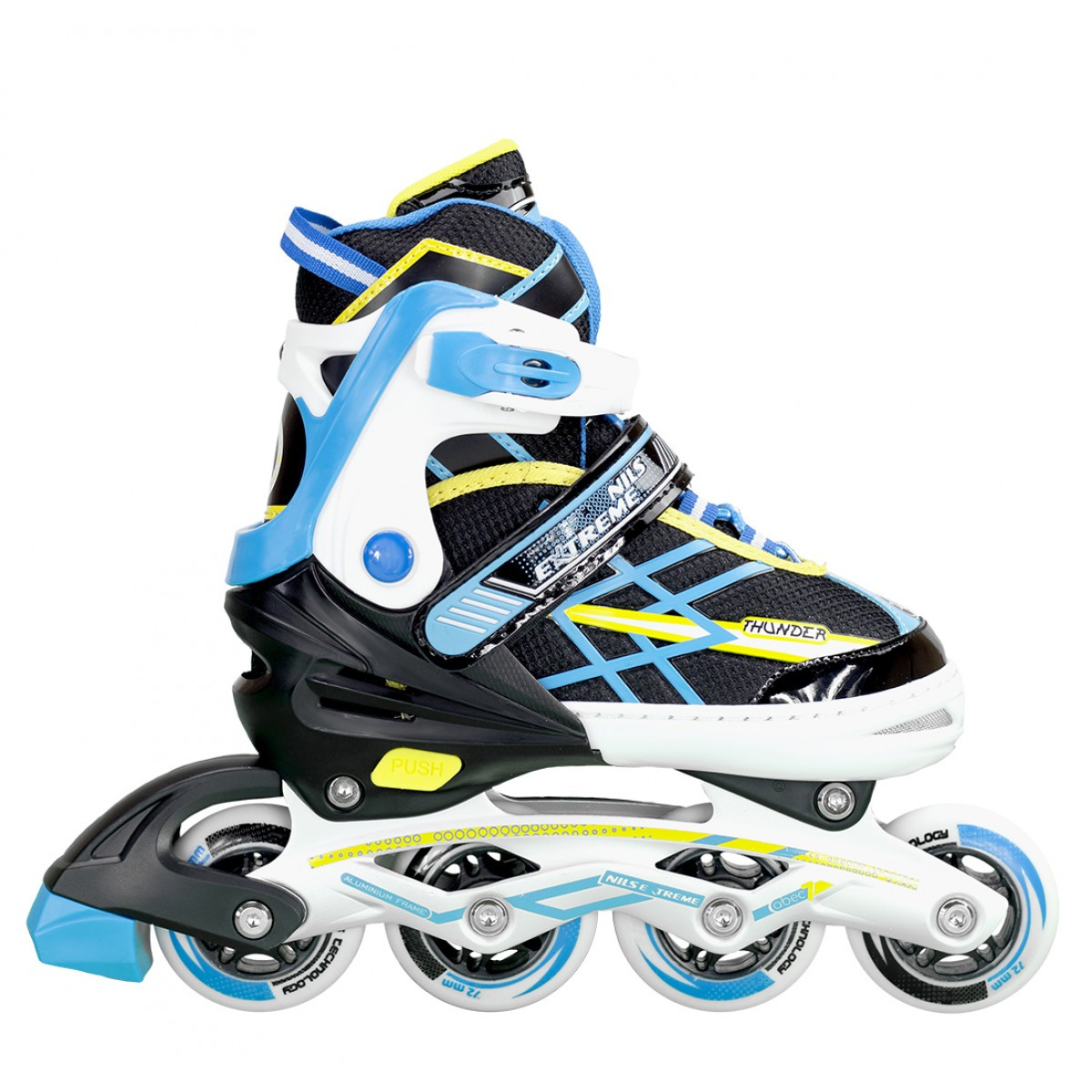 Роликовые коньки Nils Extreme NA1160A Size 31-34 Black/Blue