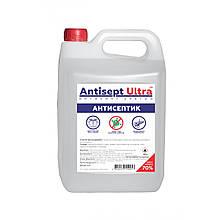 Антисептик для рук и поверхностей Antisept ULTRA (70% спирта) 5 л. Дезинфицирующее средство - Love&Life