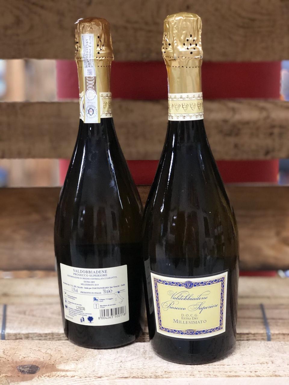 Вино игристое Prosecco Superiore DOCG 11,5% 750мл