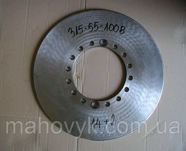 315-21-1003, 315-55-1008 тормозной диск (14+2 отверстий) L34