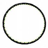 Обруч массажный для похудения с магнитами Springos Hula Hoop 100 см FA0096. Хулахуп, обруч для талии, фото 3