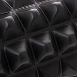 Массажный ролик (валик, роллер, ролл) Springos 33.5 x 13.5 см FR0006 Black для йоги и фитнеса, фото 4