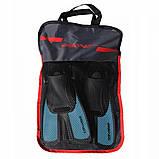 Ласты для плавания, дайвинга, снорклинга SportVida SV-DN0007JR-L размер 39-43 Black/Blue, фото 2