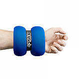Утяжелители-манжеты для ног и рук 4FIZJO 2 x 3 кг 4FJ0125. Спортивные утяжелители на ноги и руки, фото 3