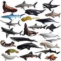 Набор мини фигурок морские животные TOYMANY Mini Sea Animal Figures