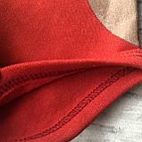 Теплый  боди с колпачком новогодний  для мальчика и девочки Турция 17. Размер  62 см, 68 см, 74 см, 80 см, фото 2