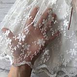 Нарядное белое платье на девочку 271. Размер 92 см, 98 см, 104 см, фото 3