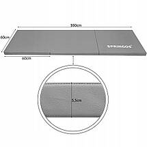 Мат гимнастический складной Springos 180 x 60 x 5.5 cм FA0062 Grey, фото 2