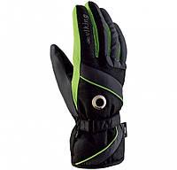Рукавиці гірськолижні Viking Trick Чорний-Зелений 72 110083202.7S.blkgrn