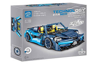 Конструктор Technology 009 McLaren, масштаб 1:10, 2655 дет. макларен