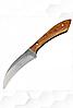 Кухонный нож Спутник №70 для кореньев со специальным лезвием.