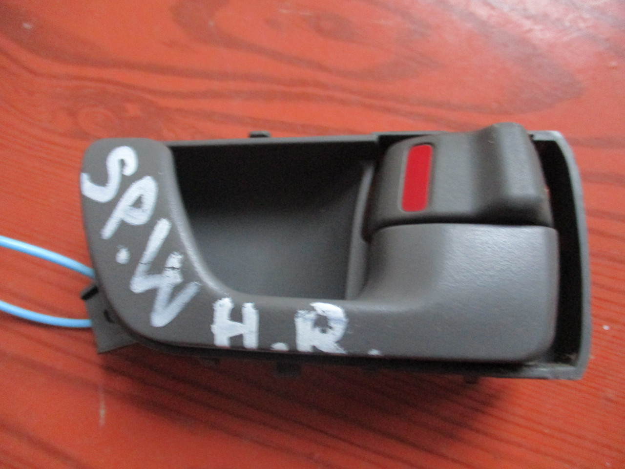 Ручка двери внутренняя, правая задняя MR358384 (67464437) Spase Wagon Mitsubishi