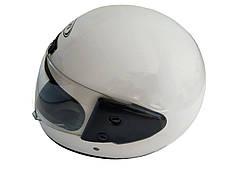 Шлем закрытый HF-101 (size: M, белый глянцевый), фото 2