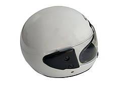 Шлем закрытый HF-101 (size: M, белый глянцевый), фото 3
