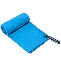 Рушник спортивне TRAVEL TOWEL, мікрофібра, р-р 60х120см., синій (HG-LST-(bl))