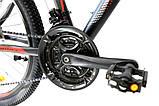 Велосипед алюминиевый горный Crosser Streаm  24*14, фото 4