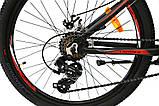 Велосипед алюминиевый горный Crosser Streаm  24*14, фото 5