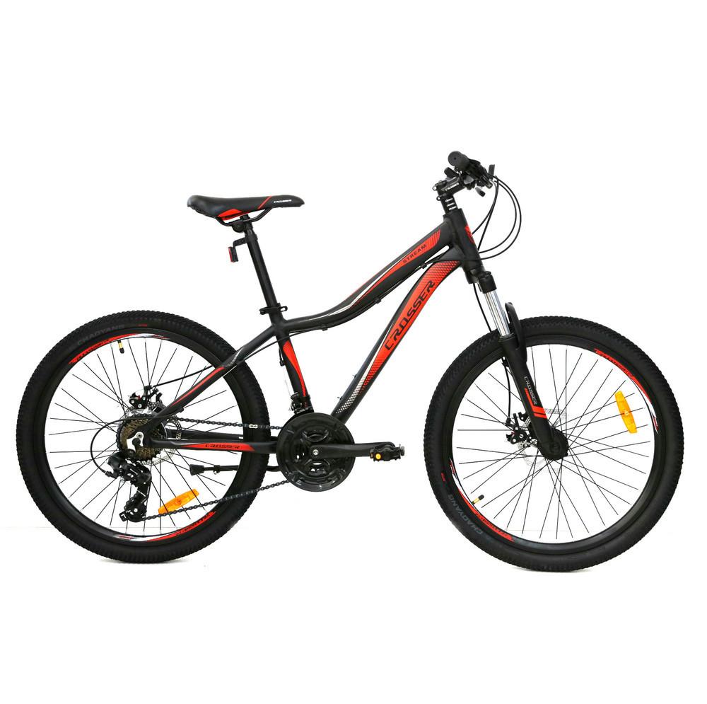 Велосипед алюминиевый горный Crosser Streаm  24*14