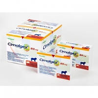CIMALGEX 80 mg СИМАЛДЖЕКС 80 мг 8 таблеток(1 блистер) для лечения опорно двигательной системы у собак