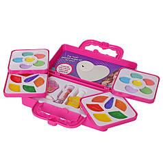 Набор детской декоративной косметики в сумочке розовая единорог