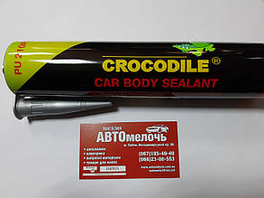 Герметик поліуретановий для швів 310 ml сірий вир-во Crocodile