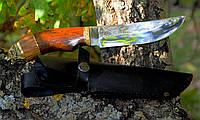 """Нож туристический эксклюзивный """"Медведь"""" с ножнами для охотников и рыбаков"""