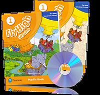Fly High 1 New Ukrainian School, Pupil's book + Activity Book + CDs / Учебник + Тетрадь английского языка