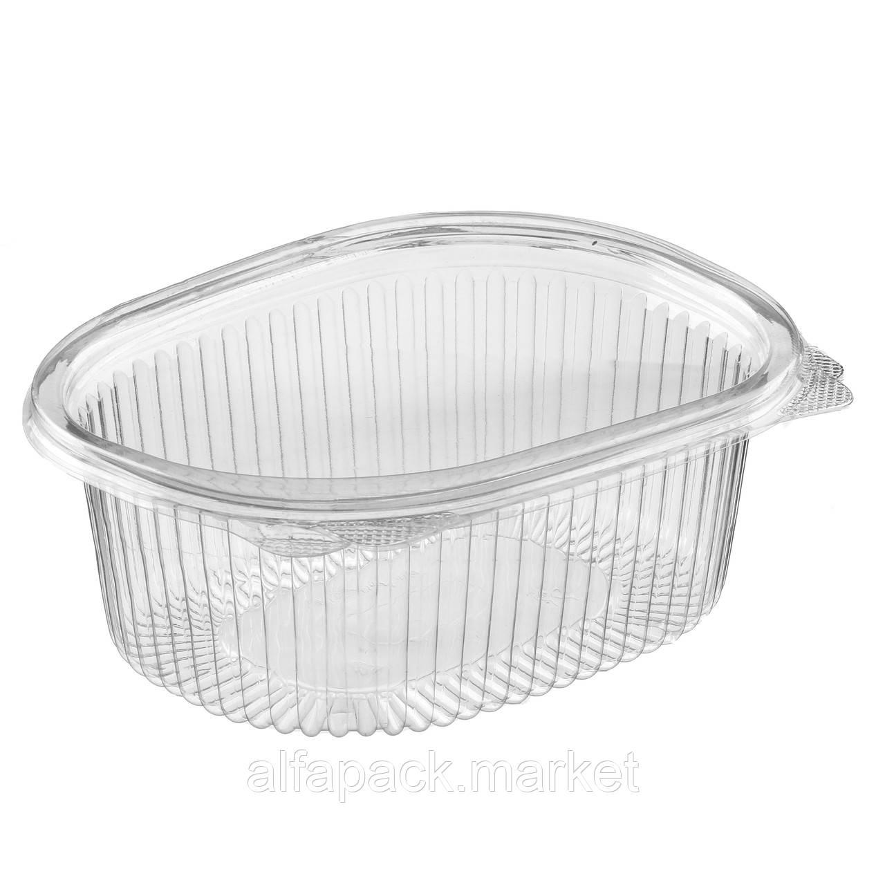 ИПР-РКС-500 Упаковка для салатов 500 мл, 137*137*68 (330 шт в упаковке) 010200133