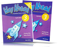 Way Ahead 3, Pupil's book + Workbook + CD / Учебник + тетрадь английского языка