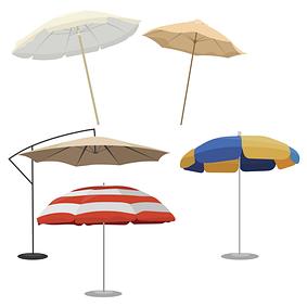 Зонты пляжные, садовые
