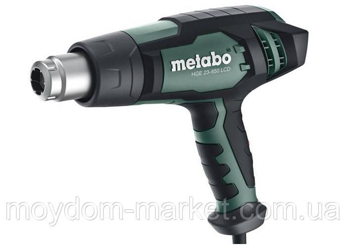 Фен технічний Metabo HGE 23-650 LCD (2300Вт; 150/500l/min; 80-650°C) 603065000