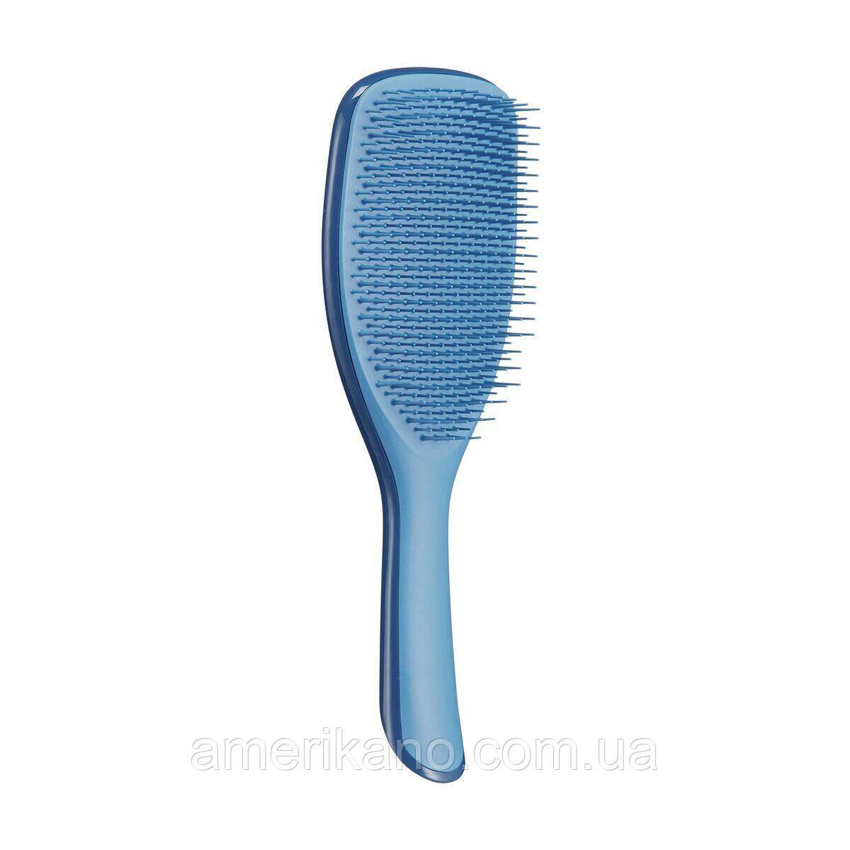 Расческа увеличенная для волос Tangle Teezer The Wet Detangler Large с ручкой Capri Blaze
