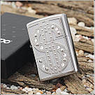 Зажигалка Zippo широкая DOLLAR 20904 , фото 4