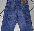 Джинсы мужские Cen & Cor с накладными карманами синие, фото 2