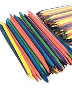 Апельсинові палички кольорові 11,5*5мм, 100 шт