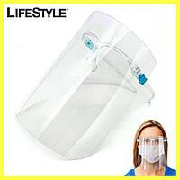 Защитный экран для лица FACE SHIELD Glasses / Щиток защитный для лица (Очки), фото 1
