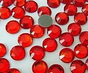 Стразы DMC, Lt. Siam / Red (лайт сиам) SS10, термоклеевые. Цена за 144шт