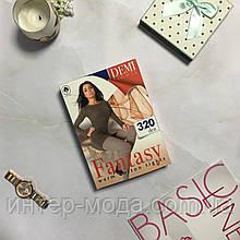 Колготи жіночі бавовняні Ажур 320 den Fantasy Серый 4