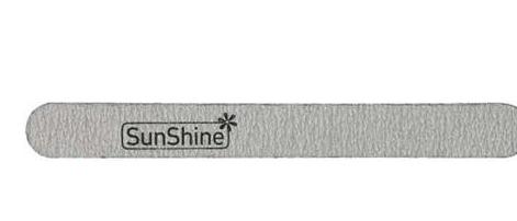 SunShine Пилка прямая 100/180 на деревяной основе, зебра